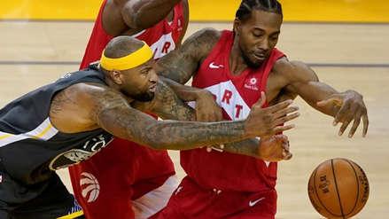 Toronto Raptors venció a Golden State Warriors y se corona por primera vez campeón de la NBA