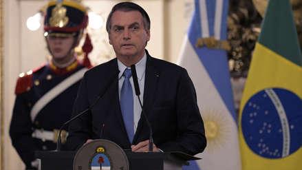 Bolsonaro critica a la Justicia de Brasil por penalizar la homofobia: