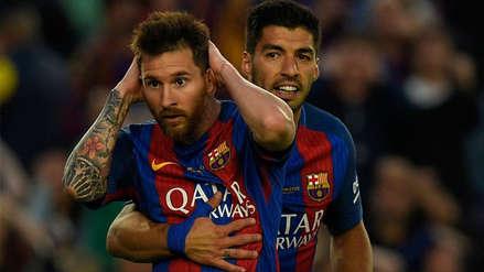 Luis Suárez salió en defensa de Lionel Messi: