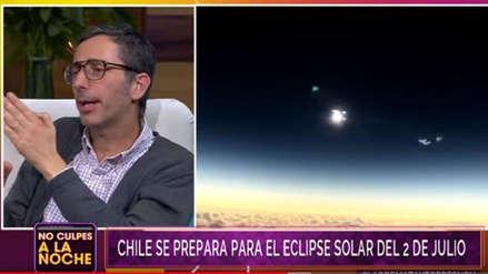 """""""¿Hay posibilidad de que el eclipse falle?"""": La insólita pregunta de un periodista chileno a un astrónomo"""