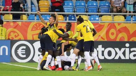 ¡A los 14 del tiempo extra! Richard Mina marcó un golazo para Ecuador en el Mundial Sub 20