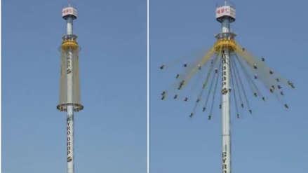 Lo sentimos, el video viral del parque de diversiones extremo es falso