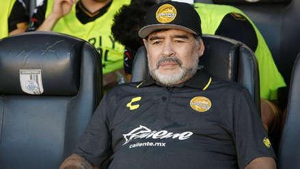 Diego Maradona y su emotivo mensaje de despedida a Dorados: