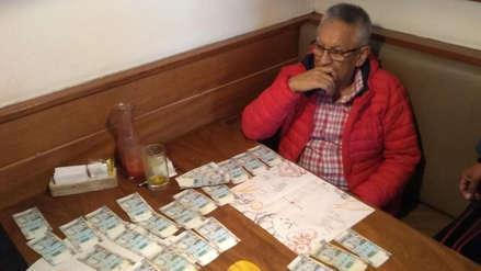 Detienen a exalcalde de Surquillo con una fuerte suma de dinero en un restaurante de San Borja