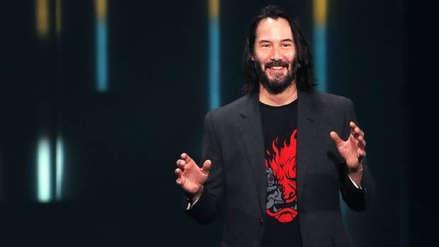 Keanu Reeves no esperaba un recibimiento tan apasionado del público en el E3 2019