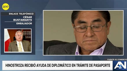 Embajador César Bustamante: