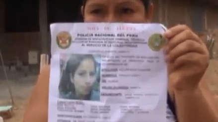 Hallan cadáver de joven estudiante de 18 años desaparecida hace 22 días
