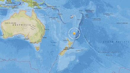 Un sismo de magnitud 7.4 sacudió Nueva Zelanda y emiten alerta de tsunami