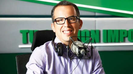 Daniel Peredo estuvo presente en la transmisión de RPP Noticias del Perú vs. Venezuela
