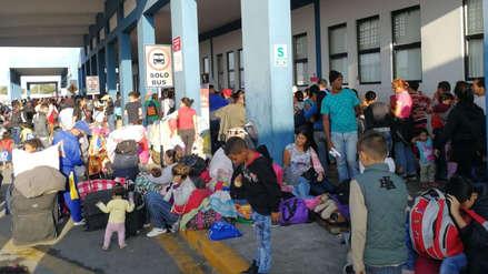 15 fotos de cómo luce el ingreso fronterizo en Tumbes tras la exigencia de visa a venezolanos