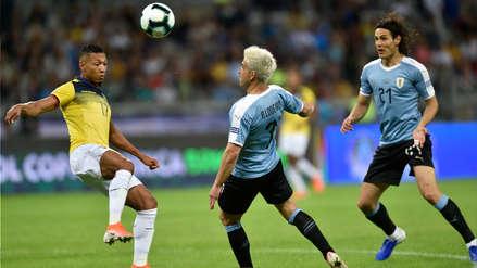 ¡Control y definición! Nicolás Lodeiro anotó un golazo en el Uruguay vs. Ecuador