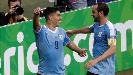 Luis Suárez y el gol que encamina la goleada de Uruguay sobre Ecuador