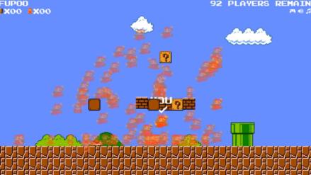 ¡Super Mario Bros al estilo Fortnite! Crean versión del juego con 100 jugadores simultáneos