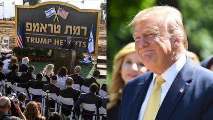 Colonia israelí llevará el nombre de Donald Trump en territorio considerado sirio [VIDEO]