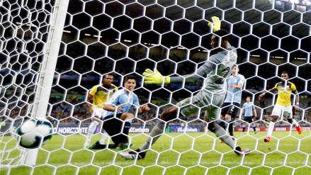 Mira las mejores imágenes de la goleada de Uruguay a Ecuador en su primer partido de la Copa América