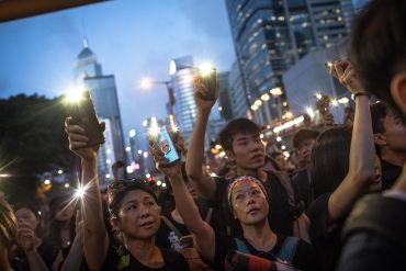 Hong Kong: 30 imágenes de la megamanifestación que convocó a casi dos millones de personas