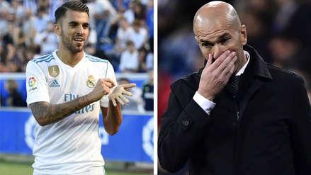 La dura respuesta de Dani Ceballos a Zinedine Zidane tras decirle que no lo tendrá en cuenta