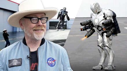 Construyen un traje real de Iron Man a prueba de balas y con la capacidad de volar [Video]