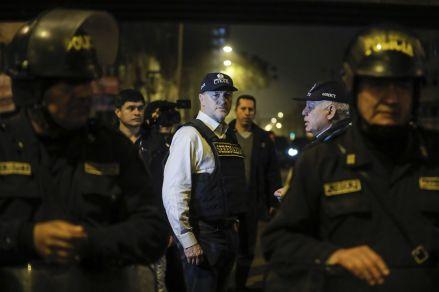 Más de 1200 policías tomaron la avenida Aviación en megaoperativo de la Municipalidad de Lima