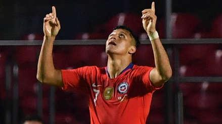 Para sellar la goleada: el cabezazo de Alexis Sánchez que concretó el 3-0 ante Japón