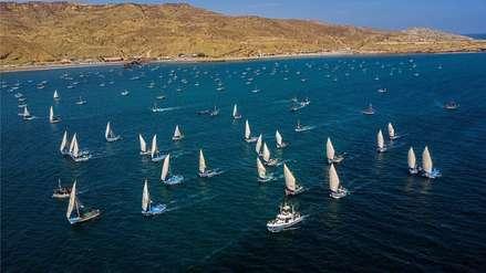 Pescadores artesanales preparan sus veleros para la Gran Regata del Siglo Cabo Blanco 2019