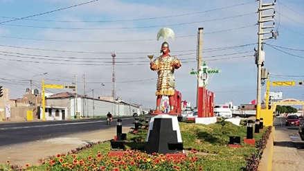 Reponen corona de la estatua del Señor de Sipán y ahora habrá tres vigilantes por día para cuidarla