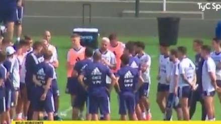 La tensa reunión de la Selección Argentina antes del duelo ante Paraguay