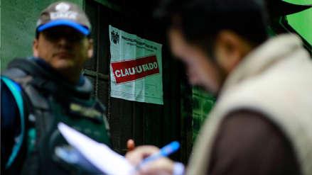 Municipalidad de Lima: 51 comercios fueron clausurados en megaoperativo de avenida Aviación