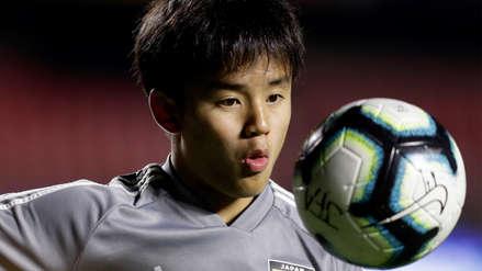 Takefusa Kubo y su fluida respuesta en español al ser comparado con Lionel Messi