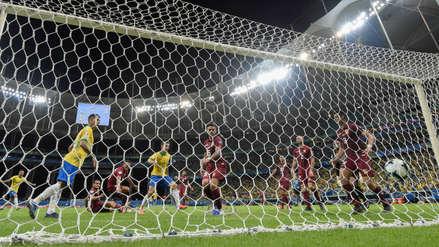¡Increíble! El VAR anuló otro gol de Brasil ante Venezuela