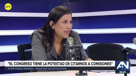 """Flor Pablo sobre maltrato a profesoras: """"No nos parece la forma correcta de proceder el callar a la gente"""""""