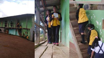 I.E. 14519: El colegio de un caserío de Piura que funciona en un local de ronderos desde hace nueve años