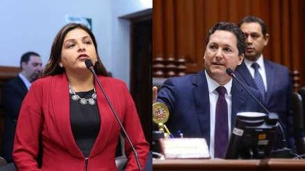 Reacciones en el Congreso a las declaraciones de Karina Beteta sobre Daniel Salaverry