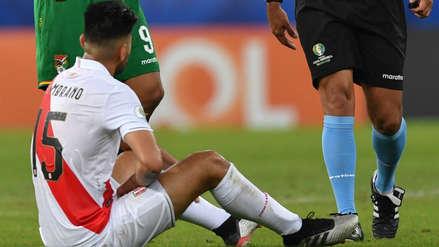 Carlos Zambrano es duda por lesión para partido clave Perú vs. Brasil de la Copa América 2019