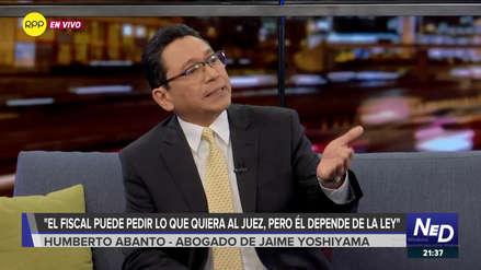 Abanto: Domingo Pérez busca