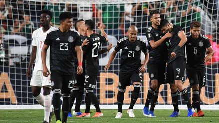 México venció 3-1 a  Canadá por la fecha 2 del Grupo A de la Copa Oro 2019