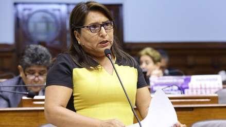 Comisión del Congreso rechazó levantar la inmunidad parlamentaria a fujimorista Betty Ananculí
