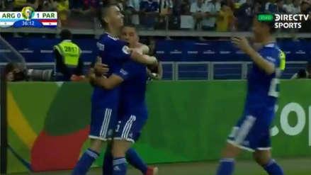 ¡Zapatazo! Paraguay se adelanta en el marcador ante  Argentina y lo complica en la Copa América 2019