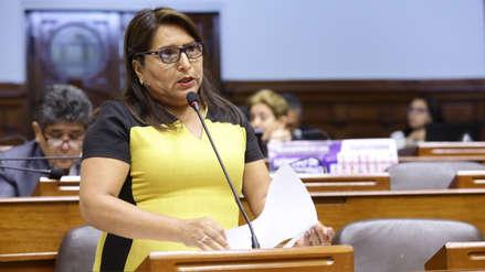Congreso recomienda declarar improcedente levantamiento de inmunidad parlamentaria de Betty Ananculi