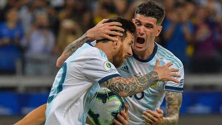 Lionel Messi anotó de penal y Argentina igualó 1-1 con Paraguay
