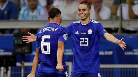 Richard Sánchez anotó en el empate 1-1 entre Paraguay y Argentina y mantiene con vida a la 'albirroja'