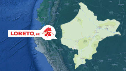 Un sismo de magnitud 5.2 sacudió esta tarde Loreto