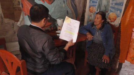 Anciana que estuvo indocumentada por 80 años obtendrá por primera vez su DNI