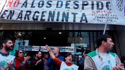 El desempleo en Argentina sube al 10,1 % en el primer trimestre