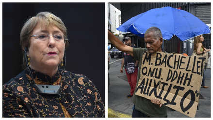 Alta Comisionada de la ONU, Michelle Bachelet, llegó a Venezuela para abordar la crisis