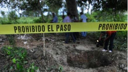 Informe revela reportes de 1,606 fosas clandestinas en México de 2006 a 2017