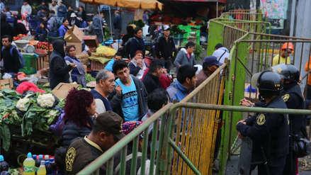 Ambulantes desalojados de avenida Aviación accederán a 2,400 puestos en galerías y mercados del Cercado de Lima