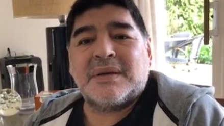 Diego Maradona negó los rumores: