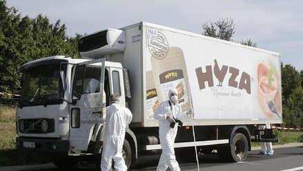 Responsables de muerte de 71 inmigrantes en camión refrigerado en Austria recibieron cadena perpetua
