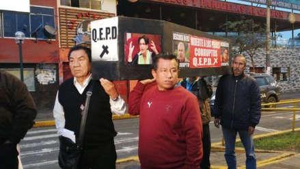 Vecinos de Puente Piedra marchan nuevamente contra los peajes de la Panamericana Norte